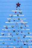 Jouets et textures de Noël Photos libres de droits