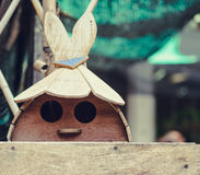 Jouets faits de bois Images libres de droits