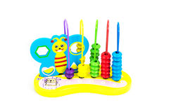 Jouets pour des enfants, la géométrie Images stock