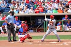 Joueur Albert Pujols de cardinaux de MLB St Louis Photos stock