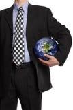 Joueur d'équipe d'affaires globales Photo libre de droits