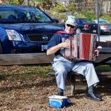 Joueur d'accordéon Photo libre de droits