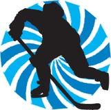 Joueur d'hockey Photographie stock libre de droits