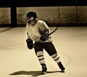 Joueur d'hockey Image libre de droits