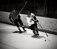 Joueur d'hockey Images libres de droits