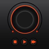 Joueur d'UI Image stock