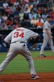 Joueur David Ortiz de Red Sox Image libre de droits