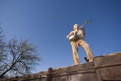 Joueur de banjo Image libre de droits