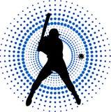Joueur de baseball illustration libre de droits