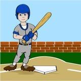 Joueur de baseball Images stock