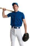 Joueur de baseball Images libres de droits