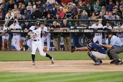 Joueur de baseball de marins d'Ichiro Suzuki Photo libre de droits