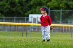 Joueur de baseball de la jeunesse image libre de droits