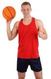 Joueur de basket Photos stock