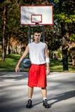 Joueur de basket Image stock