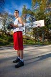 Joueur de basket Photos libres de droits