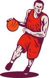 joueur de basket illustration stock