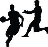 Joueur de basket Photographie stock