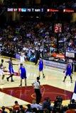 Joueur de basket-ball pro Kyrie Irving Image libre de droits