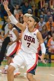 Joueur de basket Dupree Candice (États-Unis) Images libres de droits
