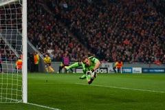 Joueur de Bayer Leverkusen Photo libre de droits