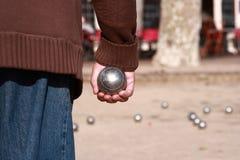 Joueur de Boules Image libre de droits