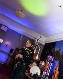 Joueur de cornemuse écossais Photo stock