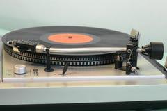 Joueur de disque vinyle d'années '80 photos libres de droits