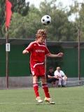 Joueur de football Photographie stock libre de droits
