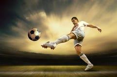 Joueur de football Image libre de droits