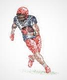 Joueur de football américain Photos libres de droits