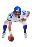 Joueur de football américain coupé Photographie stock