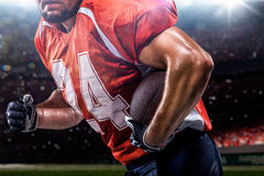 Joueur de football d'Americam Images libres de droits