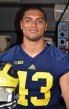 Joueur de football d'UM 43 Chris Wormley Photos stock