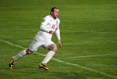 Joueur de football Rooney Photographie stock
