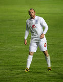 Joueur de football Rooney Photo stock