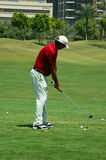 Joueur de golf photos libres de droits