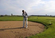 Joueur de golf Image libre de droits