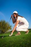 Joueur de golf Image stock
