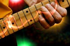 Joueur de guitare Photographie stock libre de droits