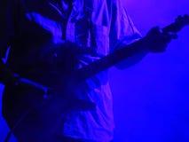 Joueur de guitare images libres de droits