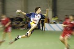 Joueur de handball images libres de droits
