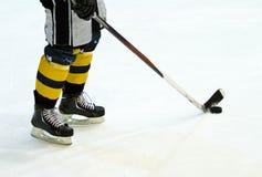 Joueur de hockey photos stock
