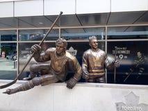 Joueur de hockey de Toronto Maple Leafs Photos libres de droits