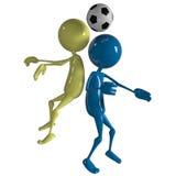Joueur de joueur de football Image stock