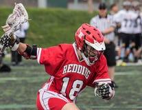 Joueur de lacrosse de Redding Images libres de droits