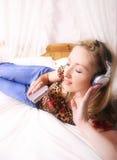 Joueur de musique Image stock