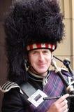 Joueur de pipeau écossais Photographie stock libre de droits