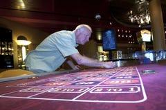 Joueur de roulette Image stock