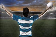 Joueur de rugby photos libres de droits